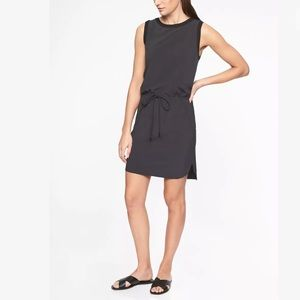 ATHLETA Rincon Dress Black NWT